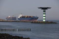 Containership стоковое изображение