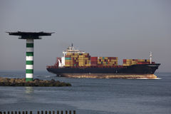 Containership Foto de Stock Royalty Free