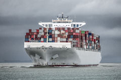 Containership Royaltyfria Bilder