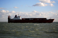 Containership zdjęcie royalty free