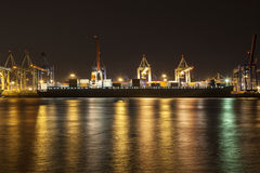 Containership Hamburg Royalty Free Stock Photography