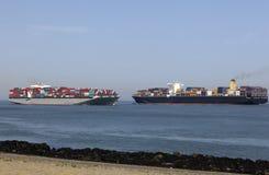 Containerships стоковая фотография rf