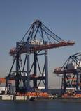 Containerterminal Royalty Free Stock Photos