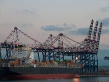 Containerterminal Stock Fotografie
