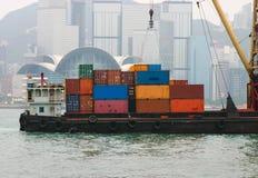Containerverschiffung Stockfoto