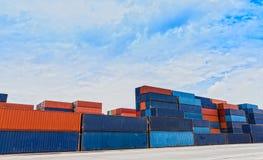 Containerwerf Stock Afbeelding