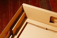 The containing box paper type. Stock Images