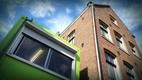 Container home Stock Images