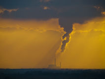 contaminación Fotografía de archivo libre de regalías