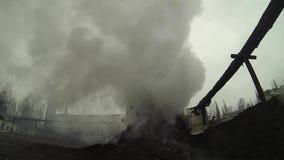 contaminación almacen de metraje de vídeo
