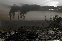 Contaminación Foto de archivo