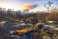 Contaminación ambiental Fotografía de archivo libre de regalías