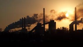 Contaminación ambiental almacen de metraje de vídeo