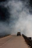 Contaminación ambiental imagen de archivo