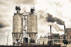 Contaminación atmosférica Imagenes de archivo