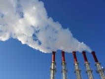 Contaminación atmosférica Foto de archivo libre de regalías