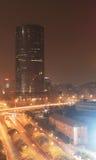 Contaminación atmosférica de Pekín Imagenes de archivo