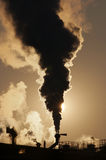 Contaminación atmosférica gaseosa Fotos de archivo