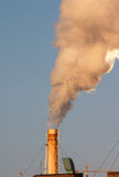 Contaminación atmosférica industrial Fotos de archivo