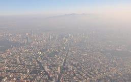 Contaminación Ciudad de México imagen de archivo libre de regalías
