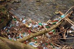 Contaminación de agua Imágenes de archivo libres de regalías