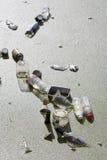 Contaminación de agua Foto de archivo libre de regalías