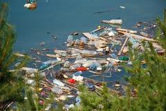 Contaminación de agua Imagenes de archivo