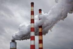 Contaminación de la energía Fotos de archivo