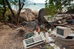 Contaminación de la naturaleza imagenes de archivo