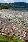 Contaminación de la naturaleza foto de archivo libre de regalías