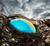 Contaminación de la tierra Imágenes de archivo libres de regalías