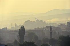 Contaminación de Turquía fotos de archivo