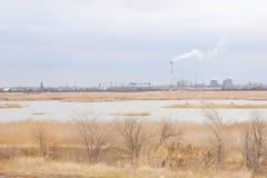 Contaminación del ambiente Imagen de archivo