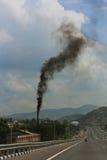 Contaminación en el aire Foto de archivo