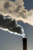 Contaminación industrial Foto de archivo libre de regalías