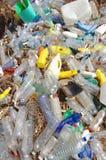 Contaminación plástica Fotos de archivo