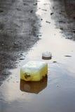 Contaminación química Imágenes de archivo libres de regalías