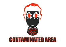 Contaminated Area Royalty Free Stock Image