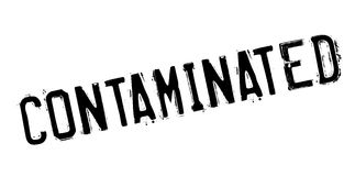Contaminated rubber stamp Royalty Free Stock Photos