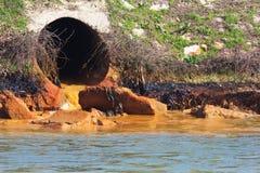 Contamination de l'eau images libres de droits