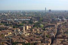 The contamination of Italian cities Stock Image