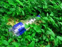 Contaminazione dei rifiuti solidi Fotografia Stock