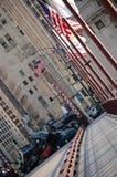 Contaminazione dei trasformatori 3 in Chicago del centro Fotografia Stock