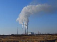 Contaminazione dell'ambiente Fotografia Stock