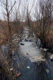 Contaminazione dell'ambiente. Fotografie Stock