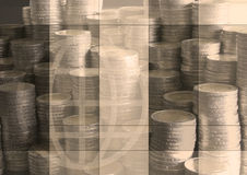 Contant geld stock illustratie