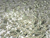 Contant geld vector illustratie