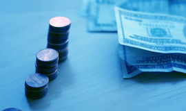 Contant geld Amerikaan royalty-vrije stock foto's