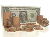 Contant geld in mijn zak Royalty-vrije Stock Afbeeldingen
