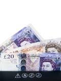 Contant geld in Ontvezelmachine stock foto